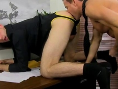 Ripped jock ass fucked in the office