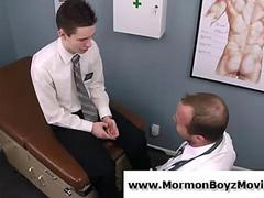 Gay mormon doctor uses buttplug on straight teen