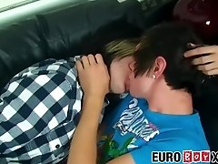 Young European emos raw pounding after making out