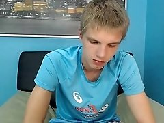 [Str8] Handsome Russian Twink - Jerk Off