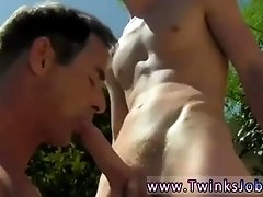 Teen gay sex in class  Daddy Poolside