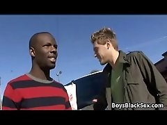 Blacks On Boys - Interracial Nasty Hardcore Gay Fuck Movie 13
