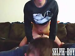 Twink Rides His Boyfriends Ass