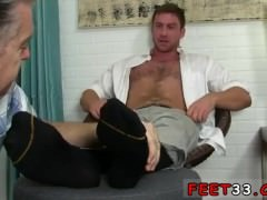 Gay twink sleeping foot  first time