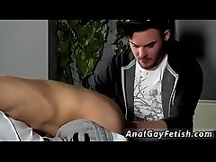 Male youth in gay bondage Reece Gets Anally d